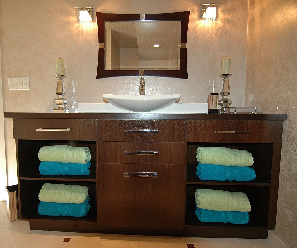 photos of remodeled bathrooms%0A Bathroom Renovation Wenge Cabinets Remodeling