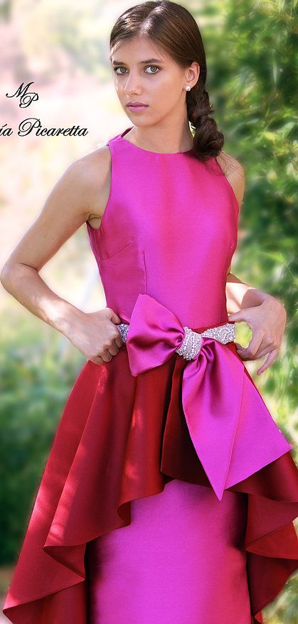 Vestidos de Fiesta de María Picaretta | maria picaretta | Pinterest ...
