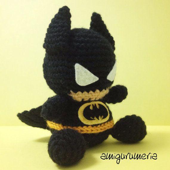 BATMAN Amigurumi Pattern SuperHero Layer Marvel Easy DIY PDF Crochet ...