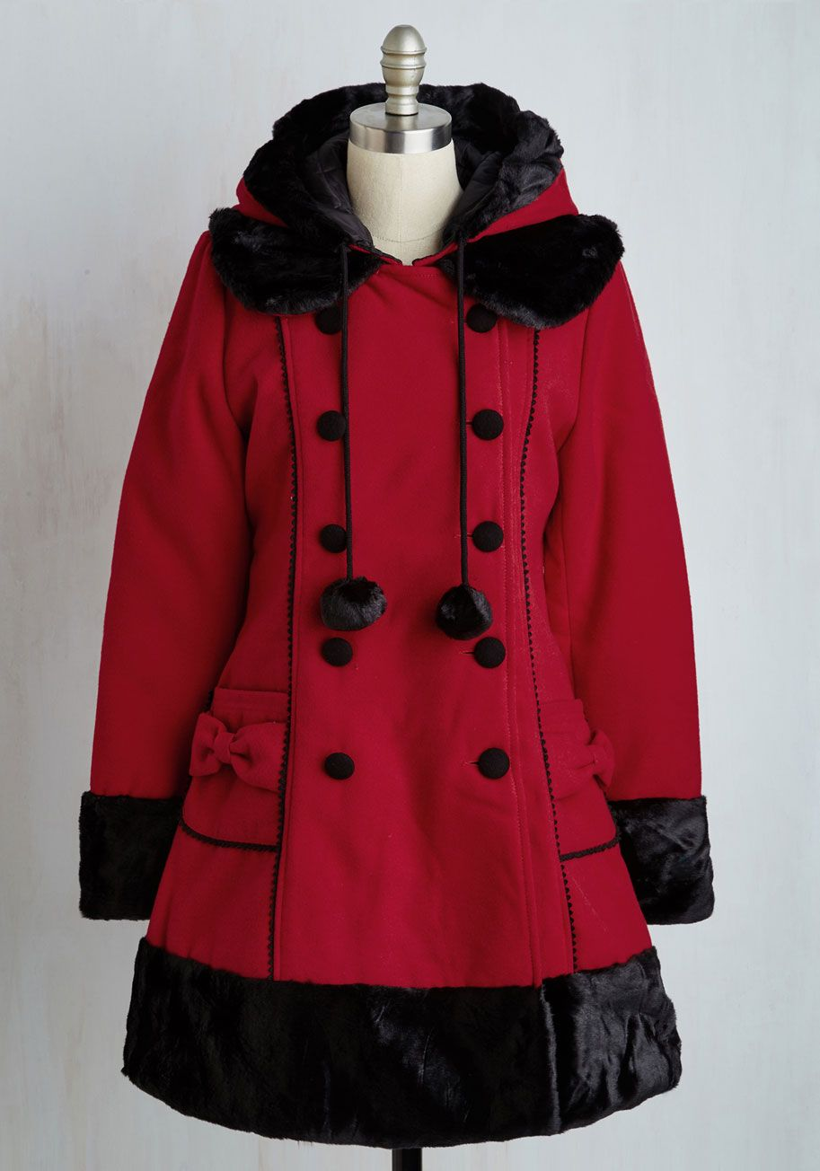 Outerwear and Cold-weather Accessories - For the Winnipeg Coat in Red