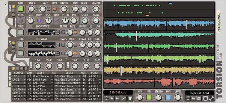 Torsion Texture Lab by Lectric Panda LLC Audio, Audio