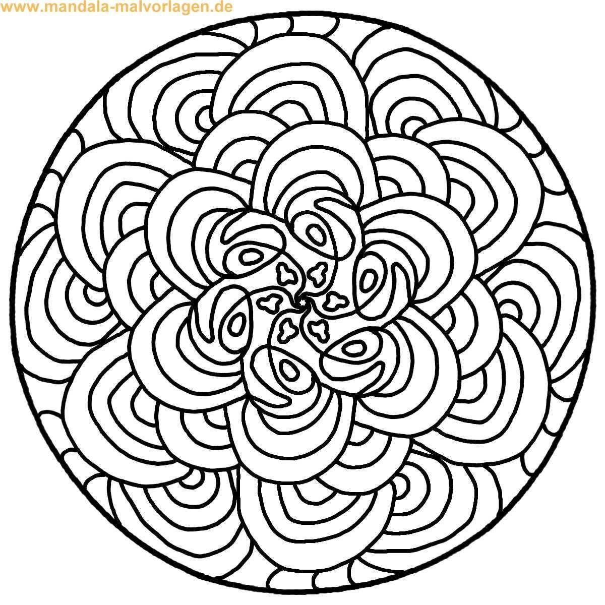 Mandalas zum ausdrucken - Dibujos para colorear - IMAGIXS | Mandalas ...