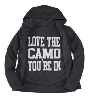 ABSOLUTELY NEED THIS!! Bass Pro Shops Love Camo Hooded Sweatshirt for Ladies - Long Sleeve | Bass Pro Shops