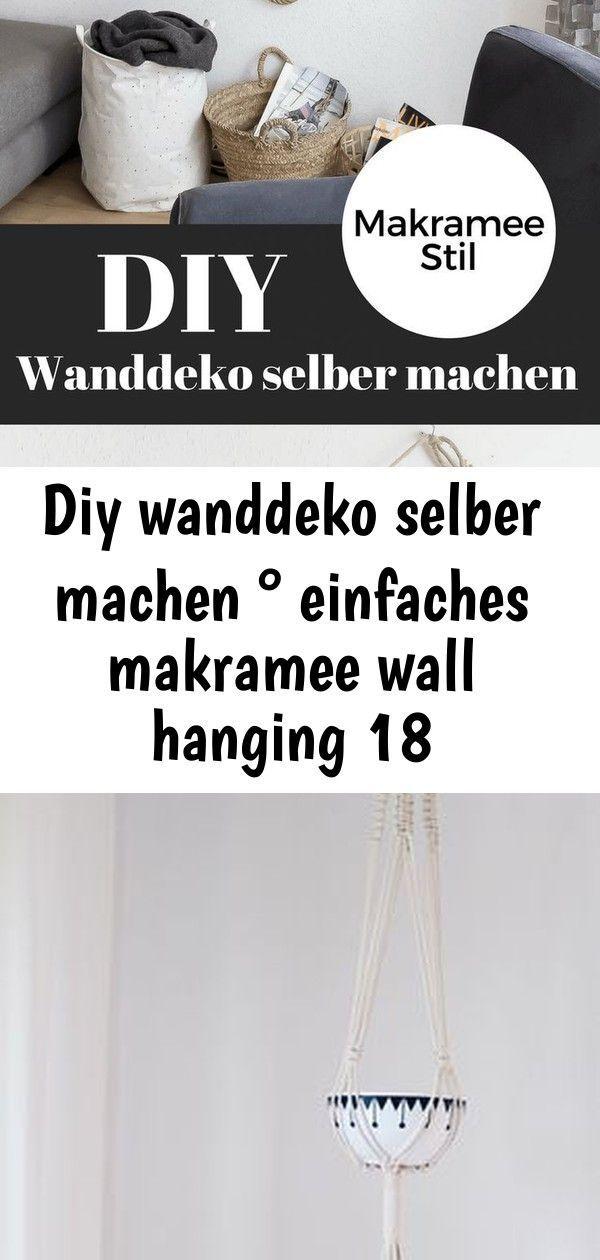 Diy wanddeko selber machen ° einfaches makramee wall hanging 18 #wanddekoselbermachen DIY Wanddeko selber machen: Einfaches Makramee Wall Hanging #diydeko #wallhanging #wanddeko #makramee Diy Makramee Blumenampel selber machen #wanddekoselbermachen
