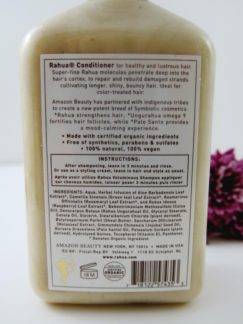 Rahua Voluminous Shampoo and Conditioner Review Rahua