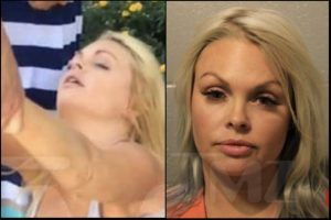 Adult Film Star Jesse Jane Arrested For Passing Out Drunk Peeing