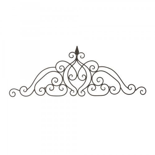 Lush Scroll Elegant Metal Wall Art Yosemite Home Decor Wall Decor Metal Wall Art