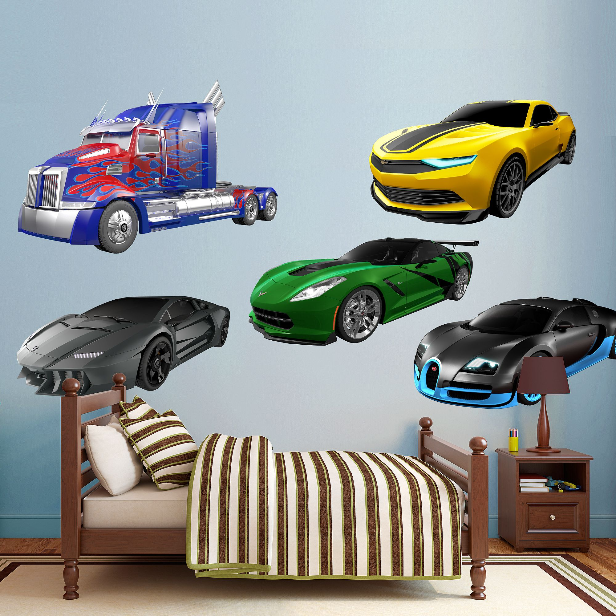 Transformers Age Of Extinction Vehicle Collection Wall Decal Transformers Wall Decal Transformers Age Transformers Transformers Age Of Extinction