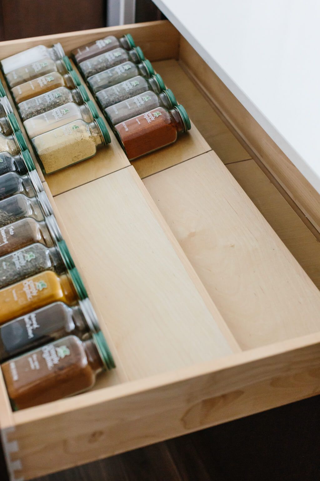 Spice Drawer Organization & Tips for Healthy Recip