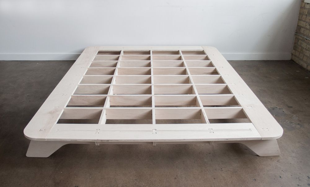 trestle bed frame — craig stover   מיטות   Pinterest   Bed frames ...
