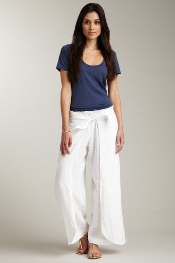 classic styles look out for 60% discount Subtle Luxury Linen Wrap Around Pant My favorite sexiest ...