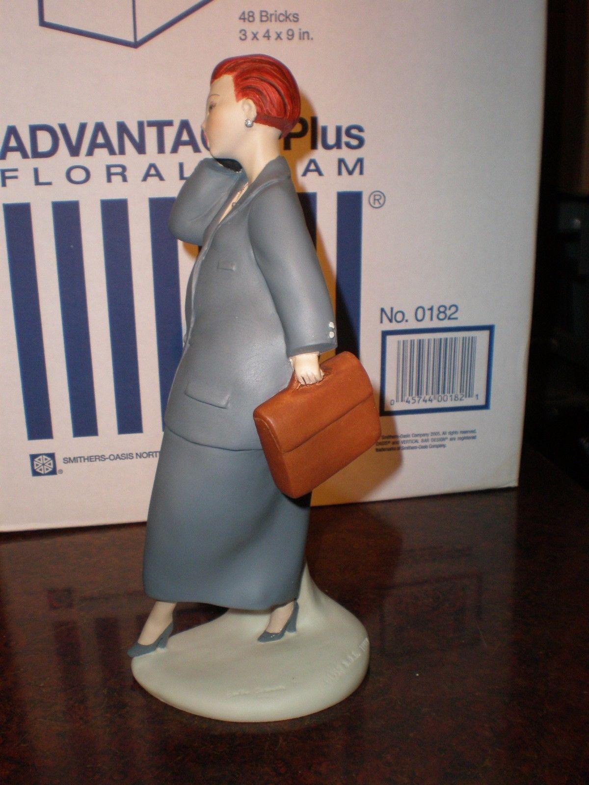 Chubby nurse figurine and