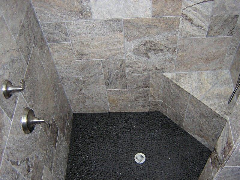 Image Result For Black River Stone Shower Floor Guest