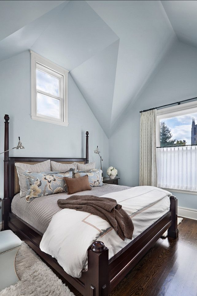 Interior Paint Color And Color Palette Ideas With Pictures Love The Idea Of Pale Blue Or Gray With Brown Modern Bedroom Interior Paint Colors Bedroom Colors