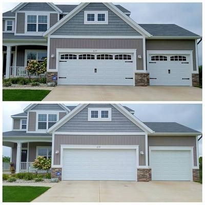 Garage Door Add Ons Lowes Home Improvements House Home