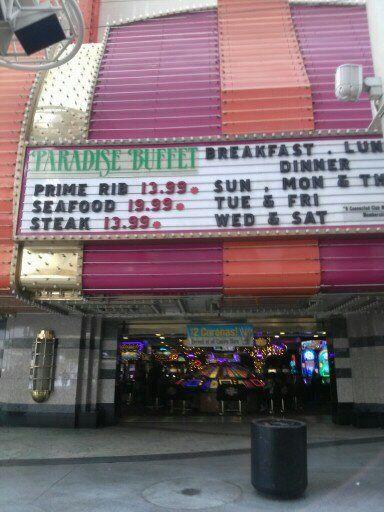 Paradise Buffet Las Vegas