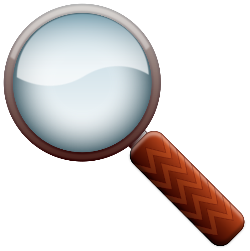 Magnifying Glass Color Clipart Magnifying Glass Clip Art Glass Mirror