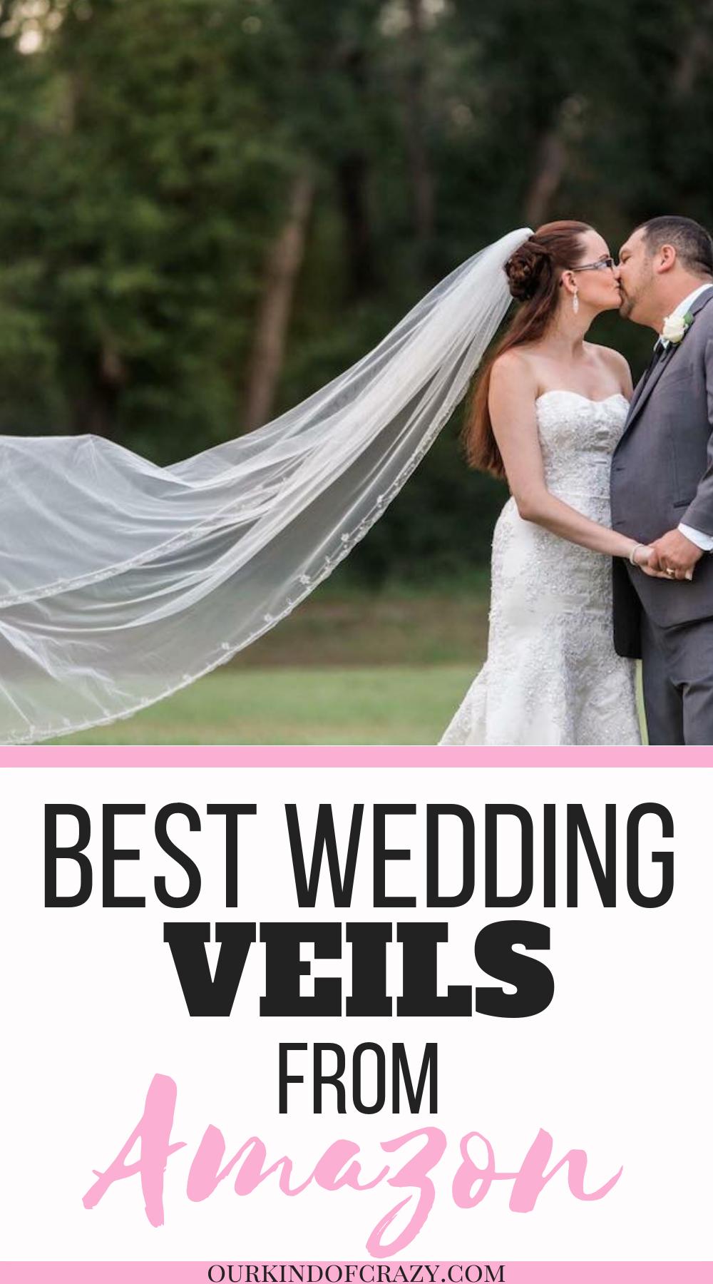 Best Amazon Wedding Veils for Cheap Affordable wedding