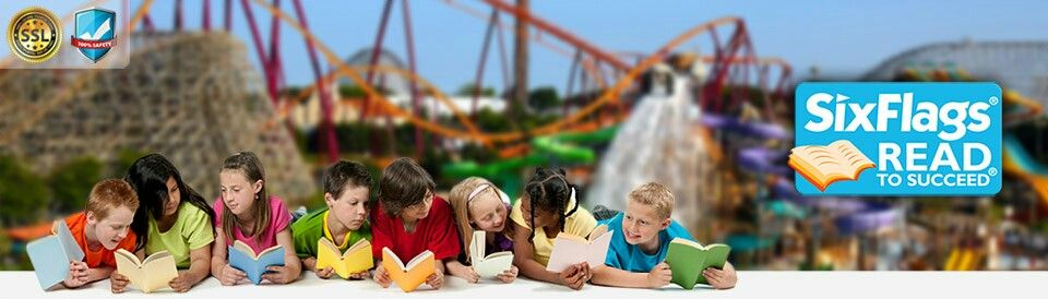 Six Flags Read to Succeed program. Wouldn't save link to website, copy/paste link to go to-  https://feedback.sixflags.com/rts/