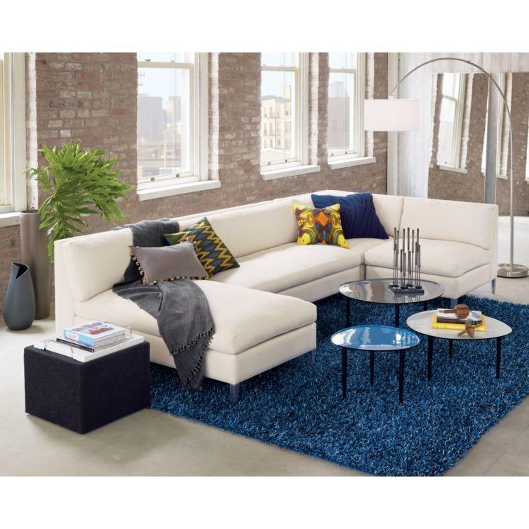 Best Cb2 Lr Blue Modern Sofa Sectional 400 x 300