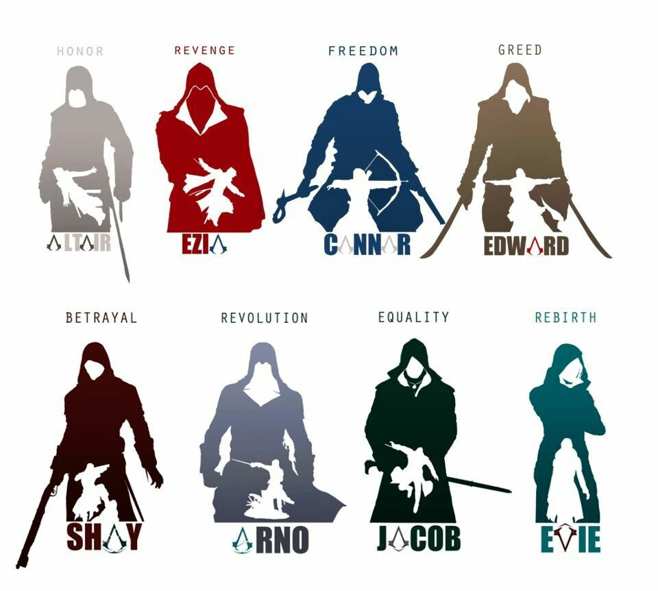 how to draw assassins creed symbol