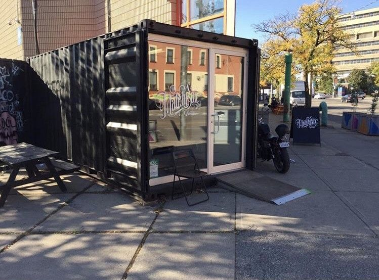Canadas first shipping container tattoo studio tattoo