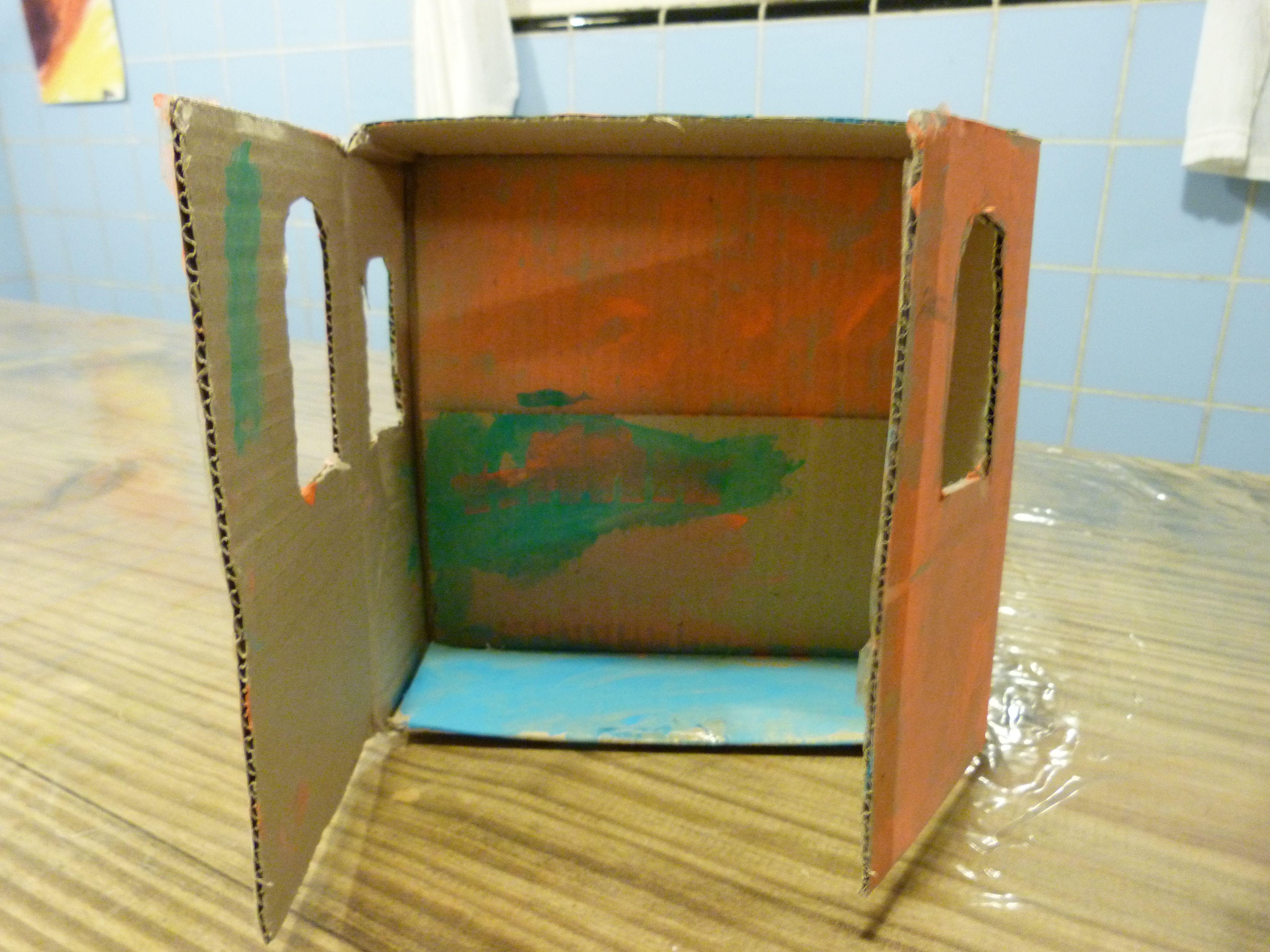 Casa de mu ecas con cajas de cart n crea tu propia casa de - Crea tu propia casa ...