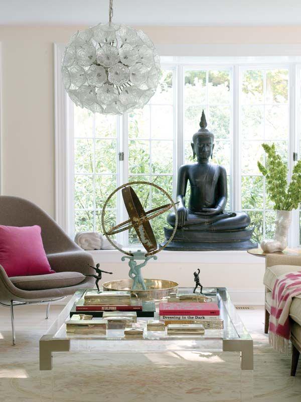 Coffee Table Womb Chair Designed By Kristin Gallipoli Asian Home Decor Home Decor Buddha Decor