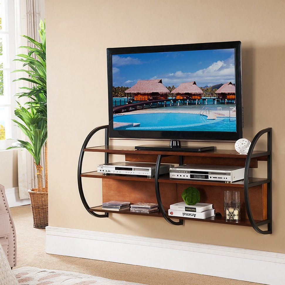 21 Diy Tv Stand Ideas For Your Weekend Home Project Small Tv Stand Wall Mount Tv Stand Wall Mounted Tv