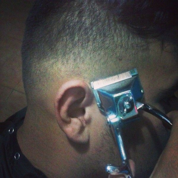manual clipper haircut in progress | Hand Clipper Haircuts ...