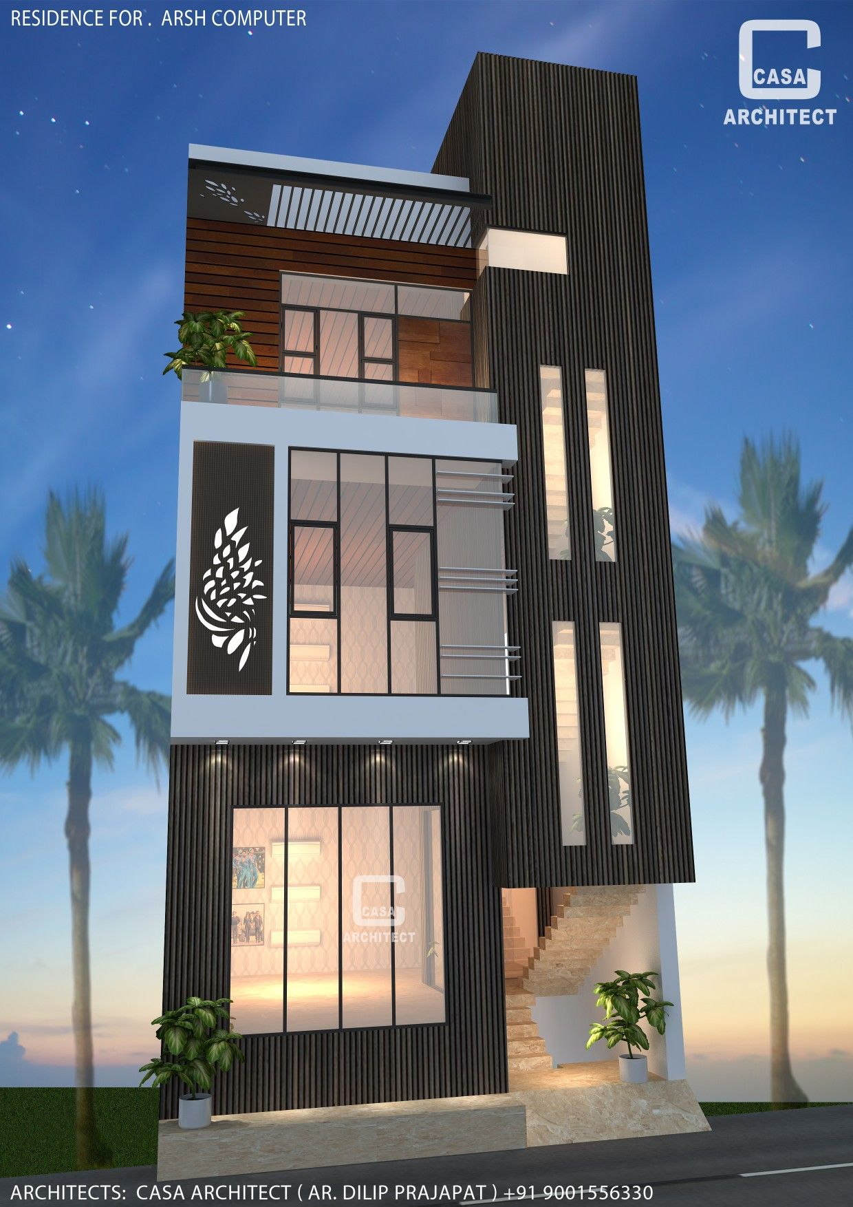 Modern Commercial Building Design By Casa Architect Building Design House Design Beautiful Home Designs