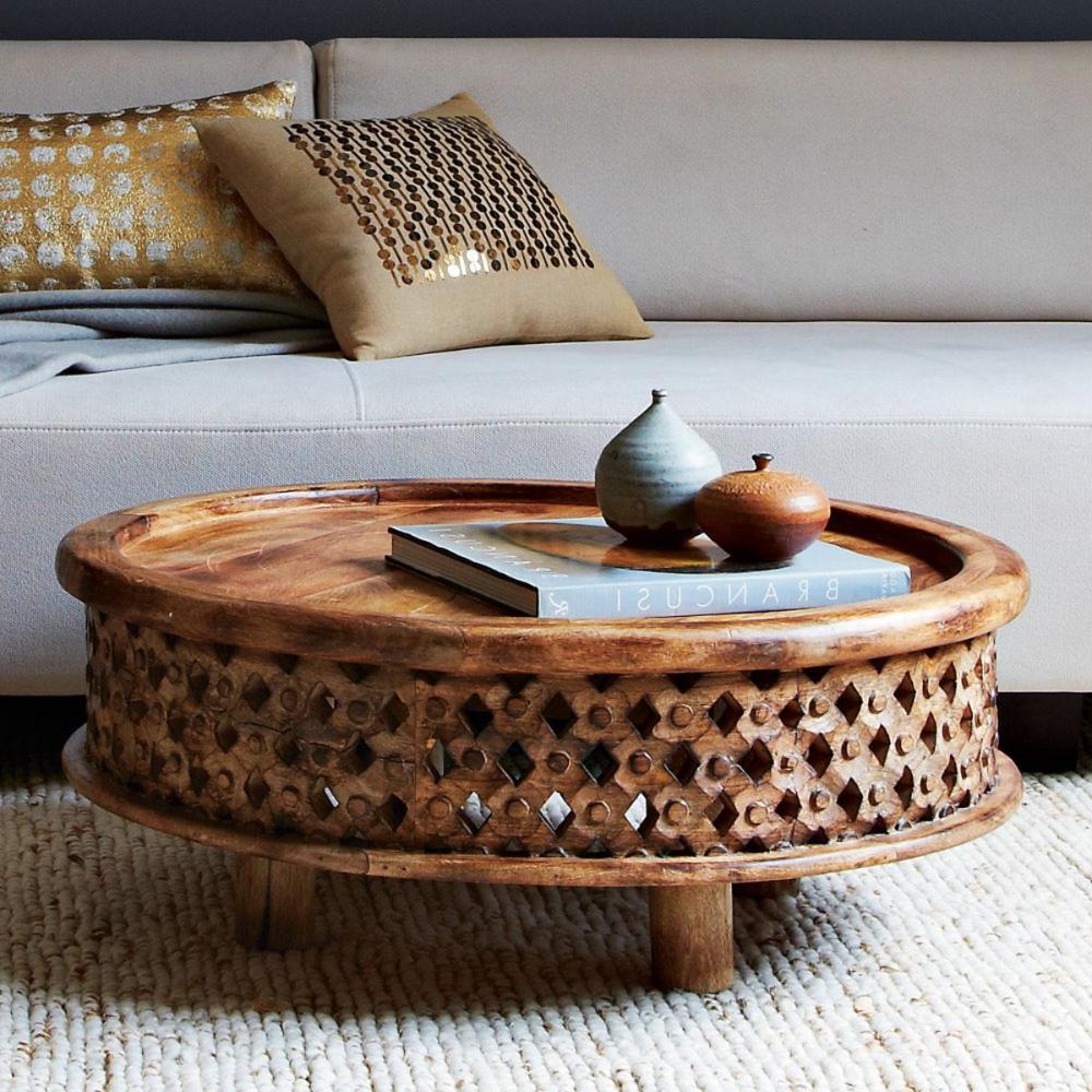 Moroccan Style Coffee Table Furniture Raw Wood Coffee Table Coffee Table Decorating Coffee Tables [ 1000 x 1000 Pixel ]