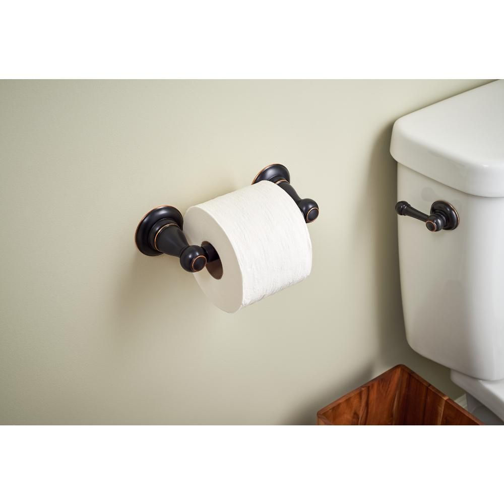 Delta Porter Toilet Paper Holder In Oil Rubbed Bronze 78450 Ob1 Toilet Toilet Paper Oil Rubbed Bronze