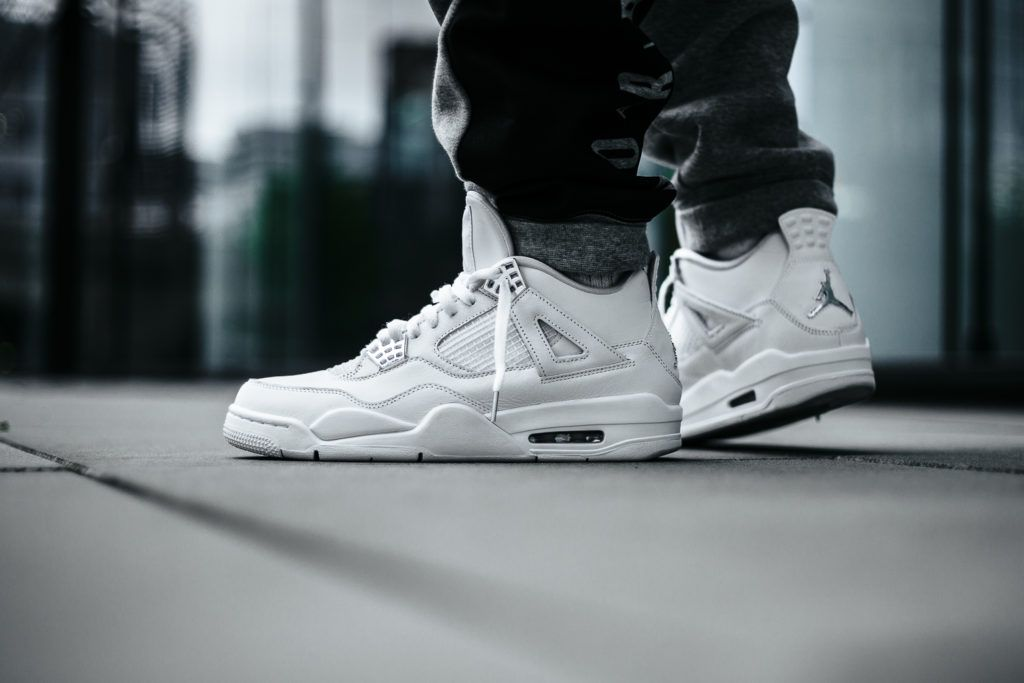 jordan retro 4 mens pure money