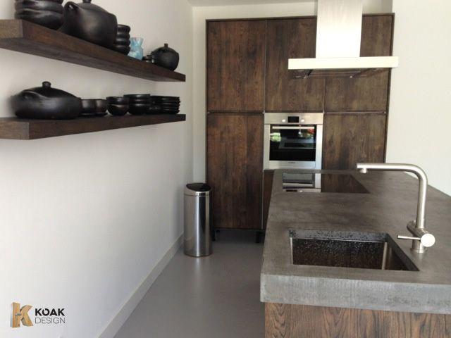 Houten keukens, projecten van Koak Design voor ikea keukens