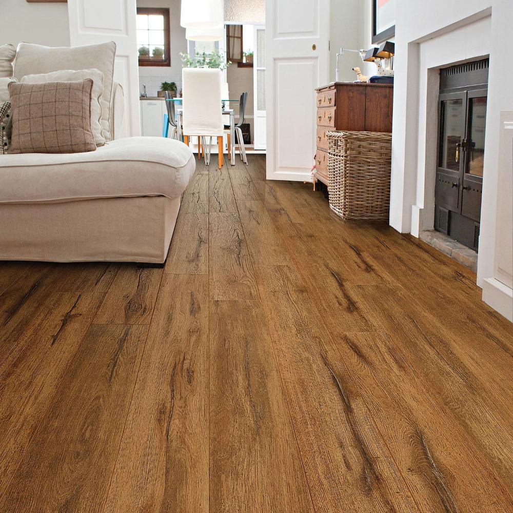 Select Surfaces Caramel Laminate Flooring Sam's Club