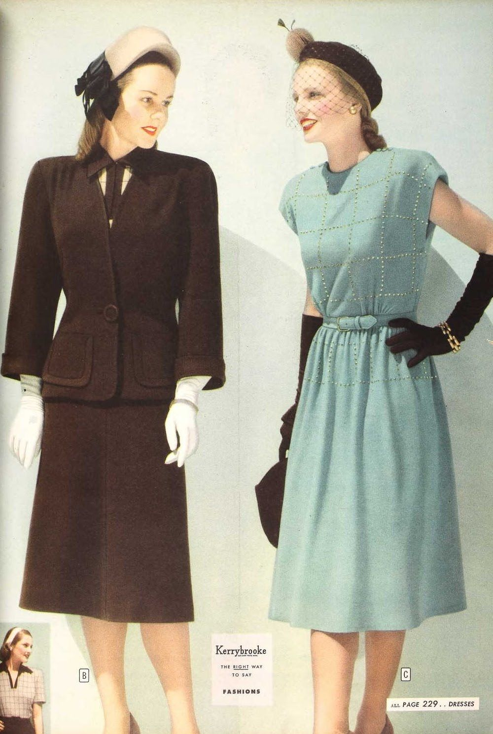 From the spring and fall sears catalogs s autumn winter