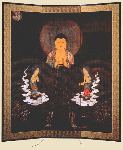 Amida Buddha, Amida Nyorai (Amitabha Tathagata, Amitayus) - Digital Dictiionary of Japanese Buddhist Deities