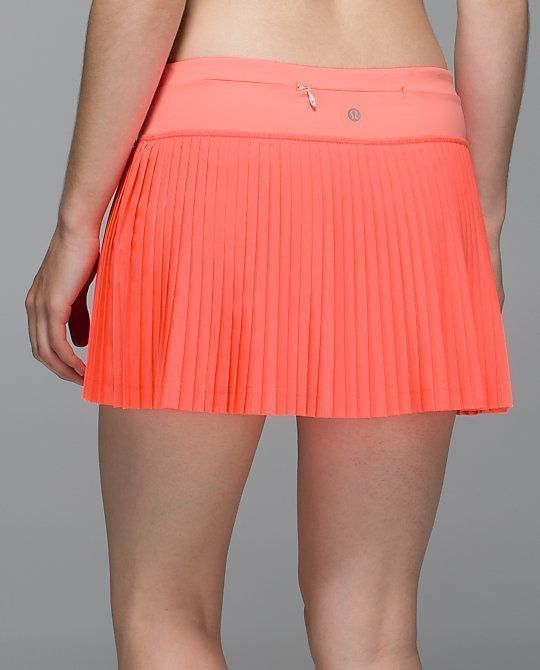 d88eed2a49 Lululemon Pleat To Street Skirt Skort II Grapefruit Sz. 4 NWT #Lululemon  #SkirtsSkortsDresses