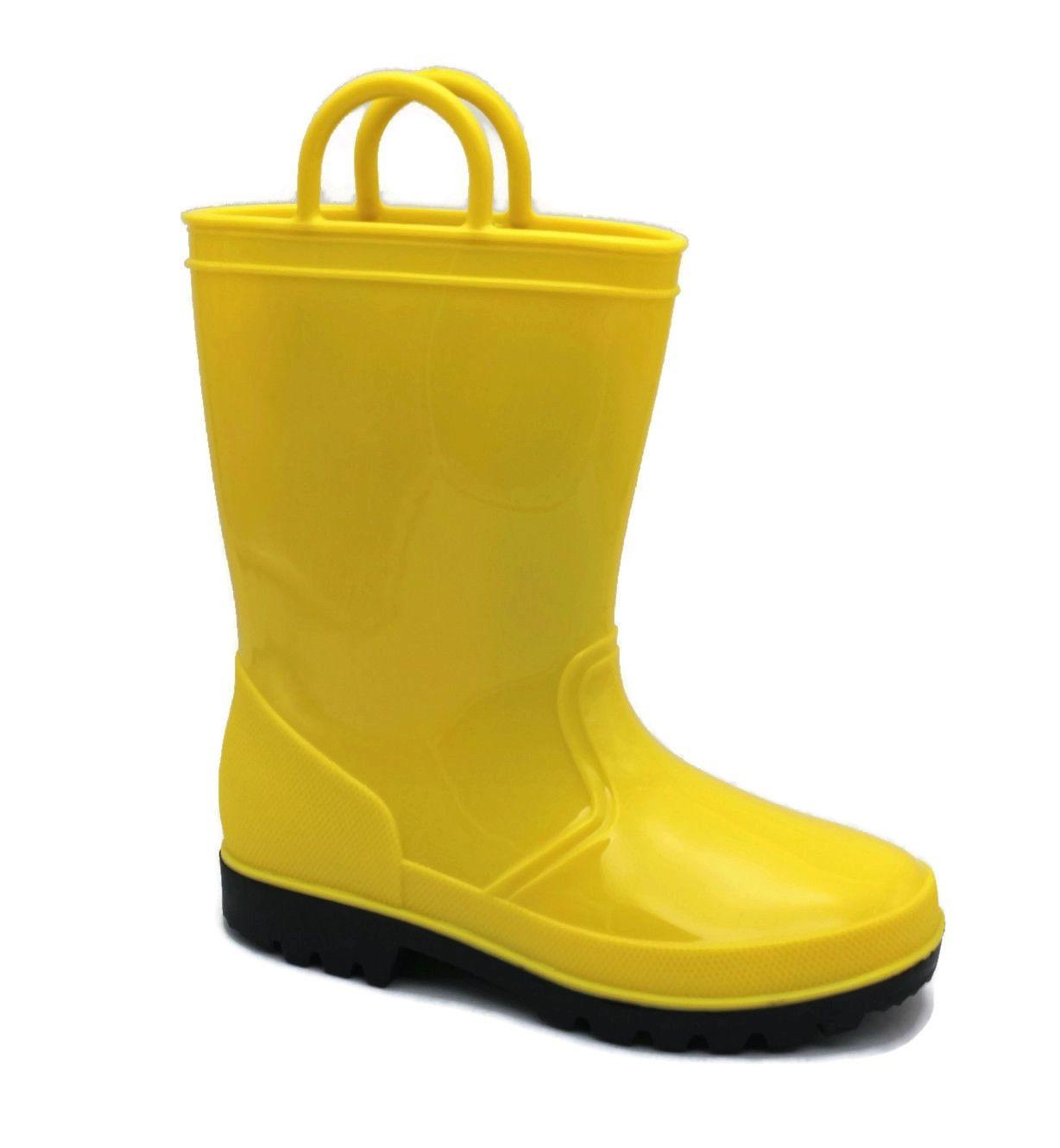 Toddler 5 to Big Kid 6 Girls or Boys WATERPROOF Skadoo KIDS RAIN BOOTS