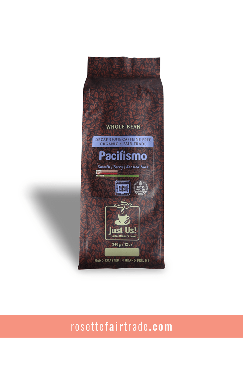 Just Us! Pacifismo decaffeinated coffee (Honduras