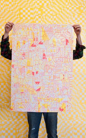 Mike Perry - Lost Show Poster