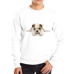 Lovely puppy anime hoodie streetwear soft cotton casual hoodie men cute dog 3D sweatshirt dog hoodie tshirt Tshirt Top for Women men