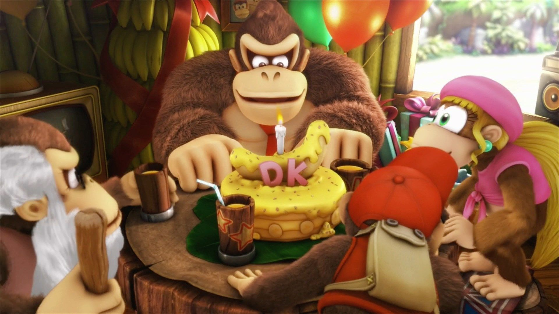 Wallpapers Free Donkey Kong Country Tropical Freeze Likeagod