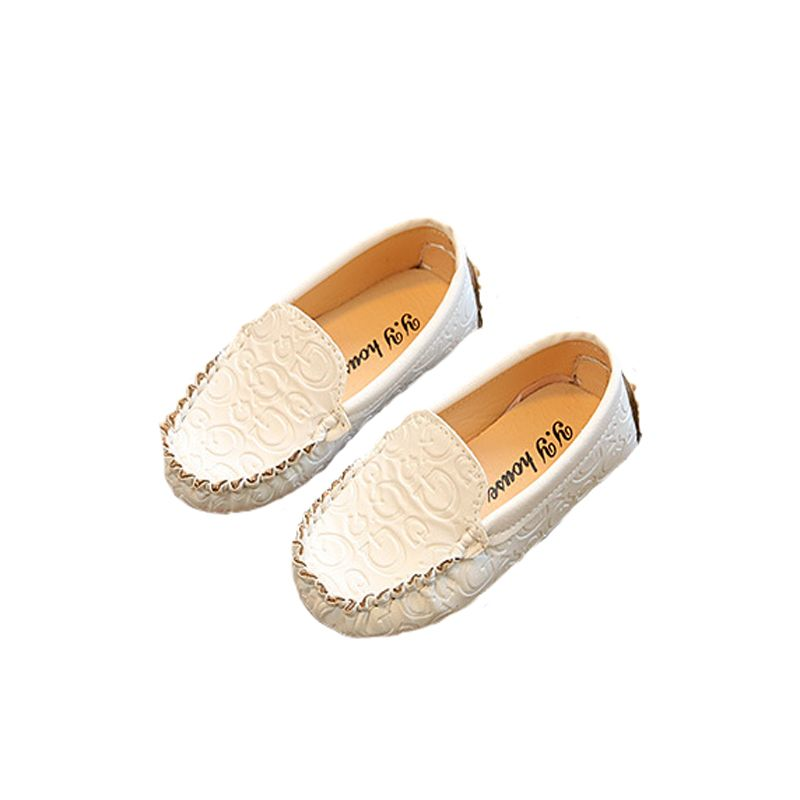020eca49f0fba Boy Girl Shoes 2017 New Kids Shoes Childrens Boys Girls Spring And Autumn  Season Moccasins Shoes Leather Small White Shoes