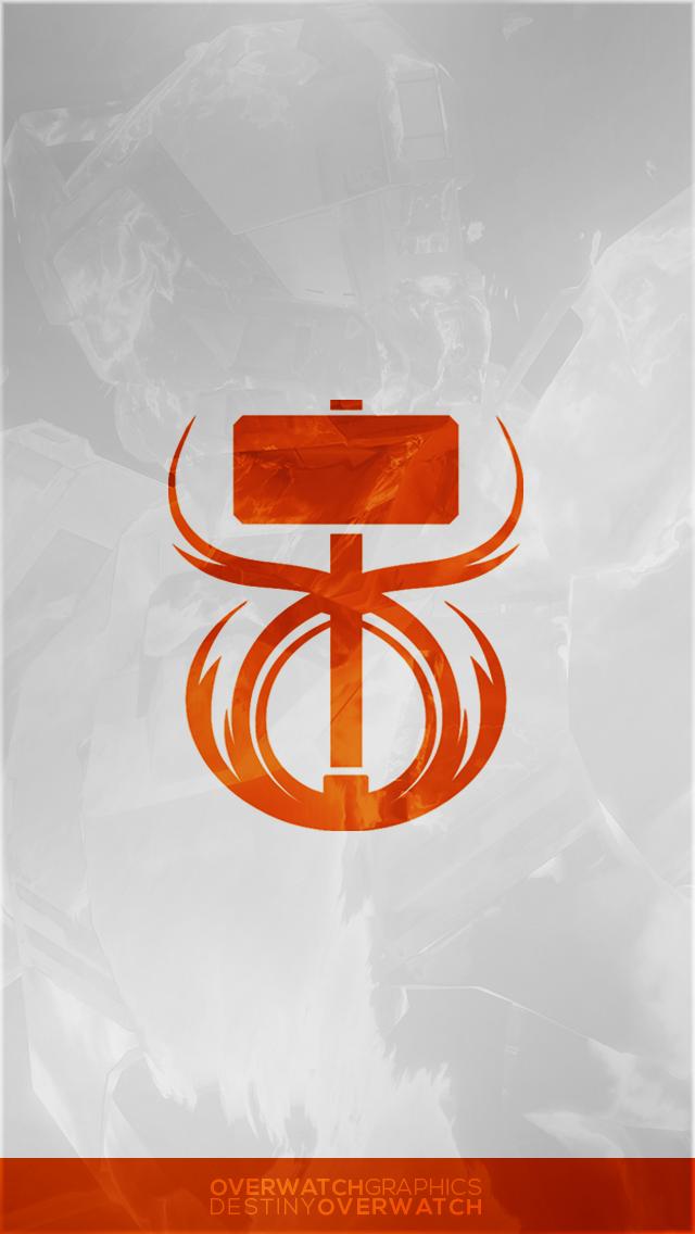Destiny The Game Simple Sunbreaker Phone Bg By Overwatchgraphics