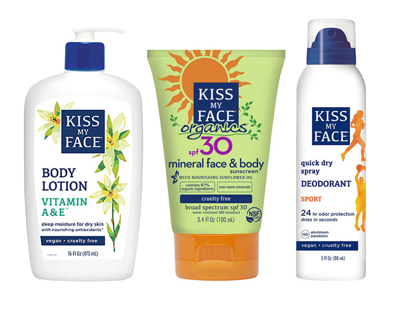 Does Kiss My Face Have The Cleanest And Best Bpa Free Packaging Of Any Personal Care Company Ever Almost All Kiss In 2020 Spray Sunscreen Body Sunscreen Kiss My Face