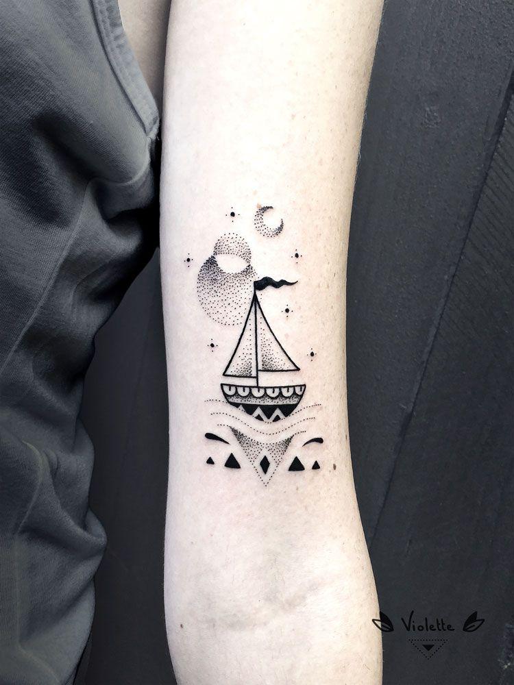 24+ Encre de bateau tatouage trends