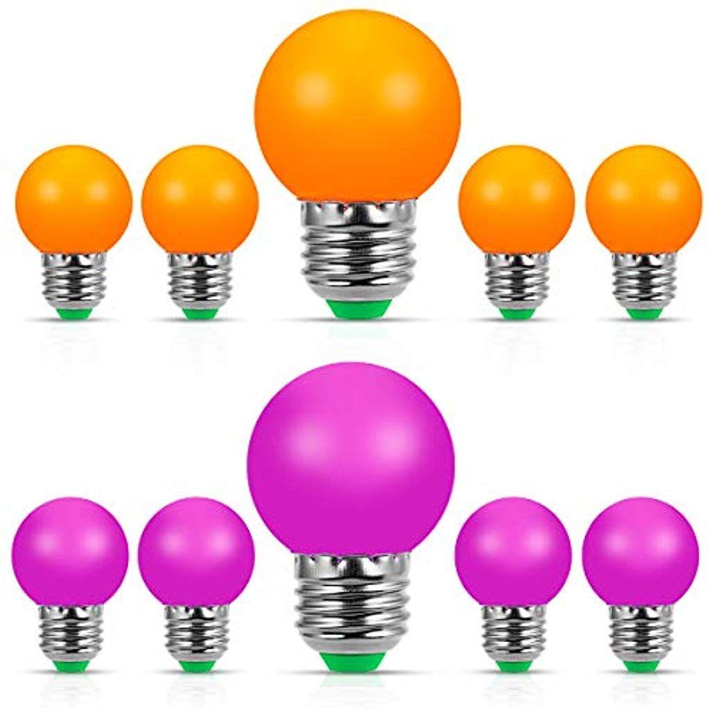 Lampadina a LED colorata E27 LED Edison 1W G45