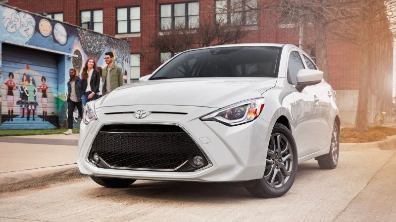 2019 Toyota Yaris Gets New Name Grille 3 Trim Levels Yaris Sedan Toyota